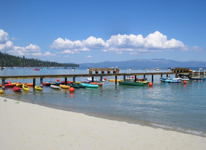 Boats at Lake Tahoe