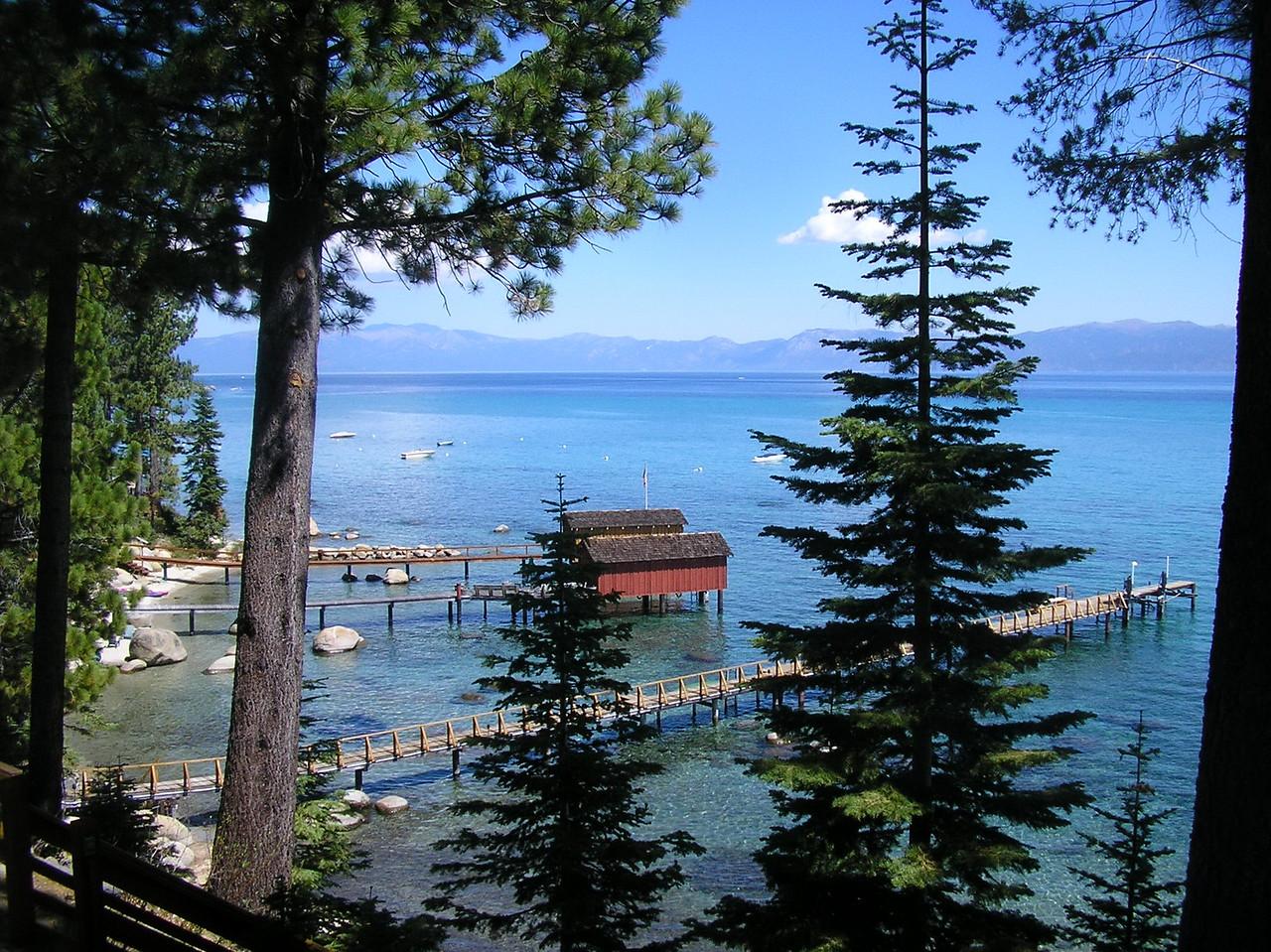 View of North Lake Tahoe