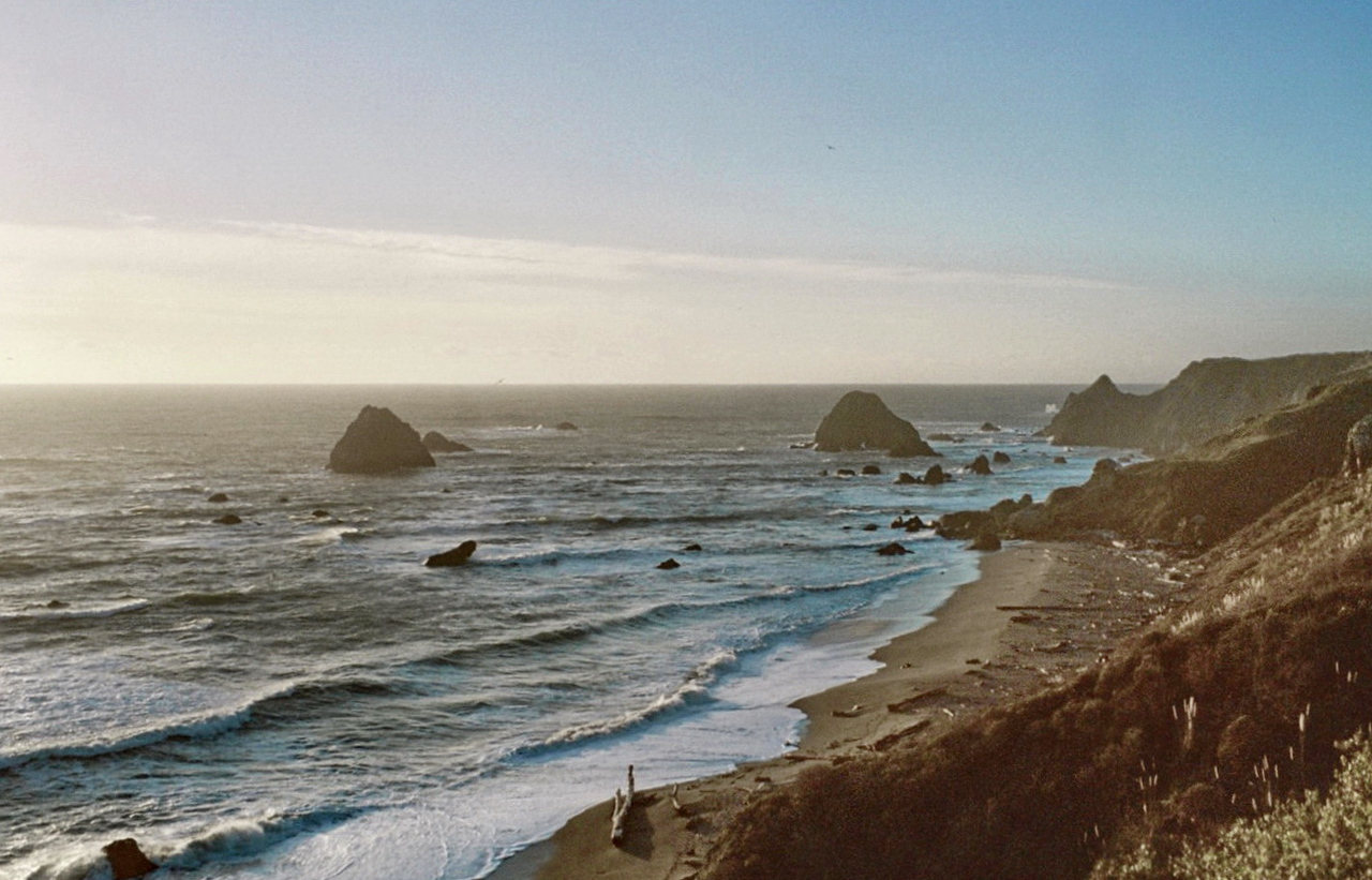 Late Afternoon on the Pacific Coast