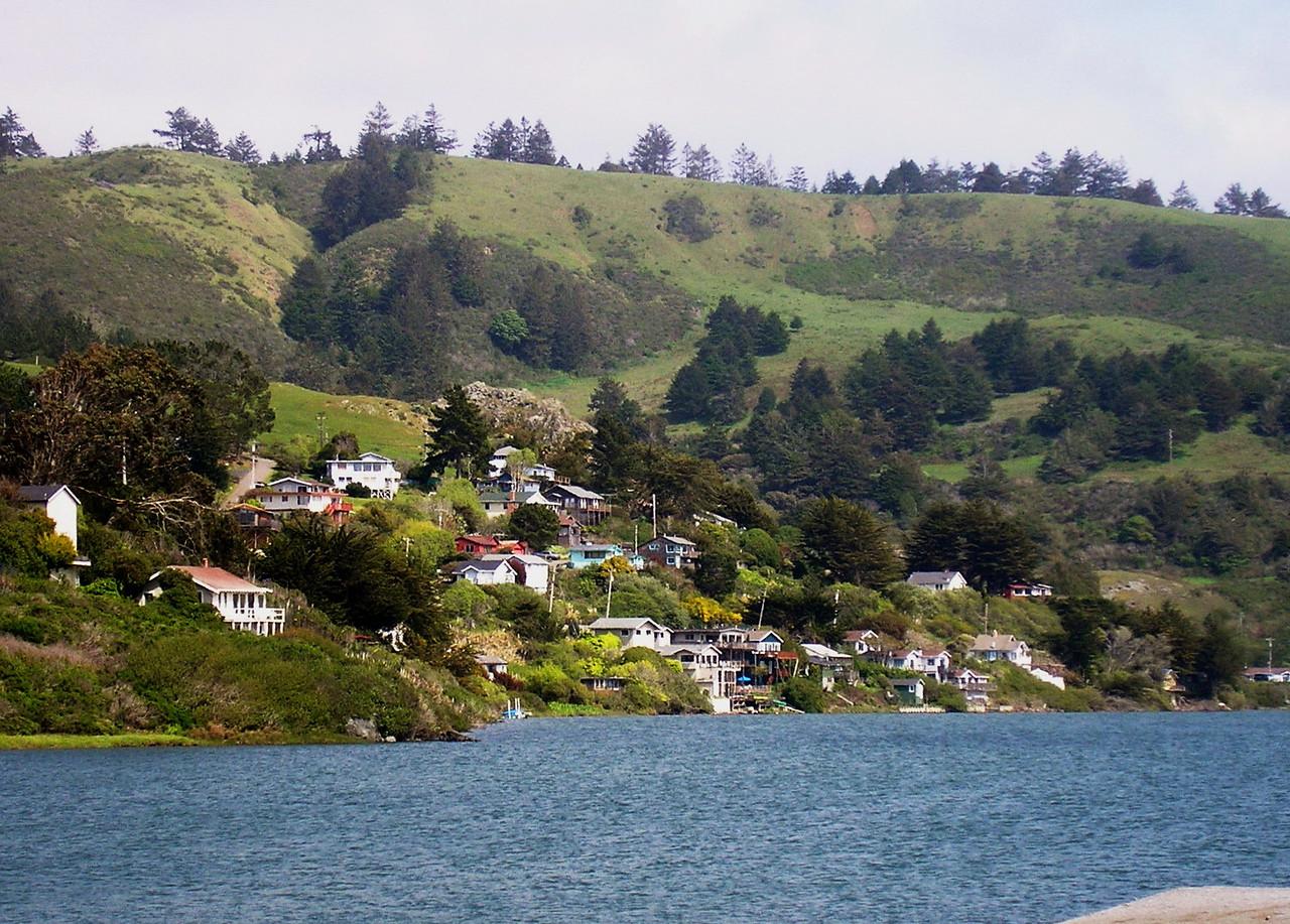 An Oceanside Town
