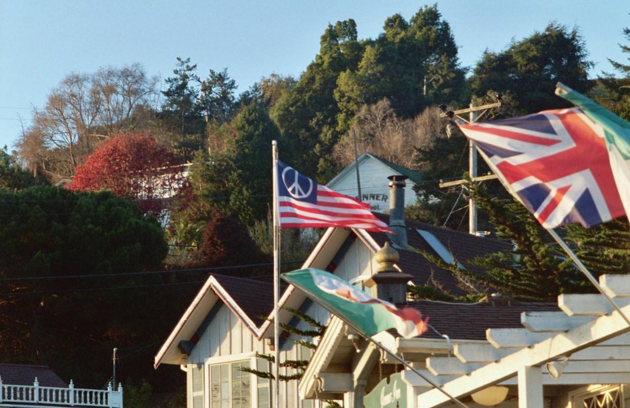 Jenner Inn Flags