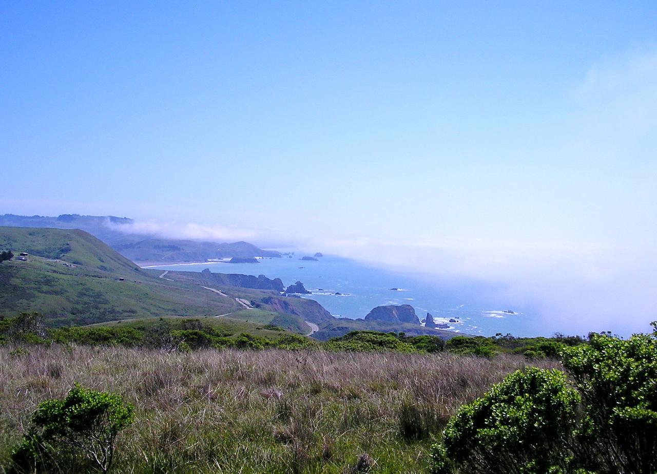 Bluffs Overlooking the Pacific Ocean