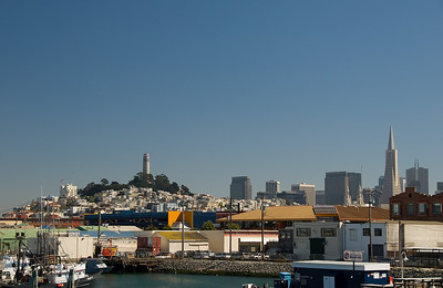 San Francisco - from Fisherman's Wharf