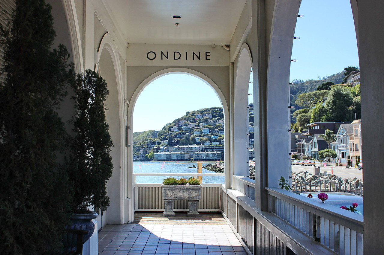 Ondine's Restaurant Porch Entrance
