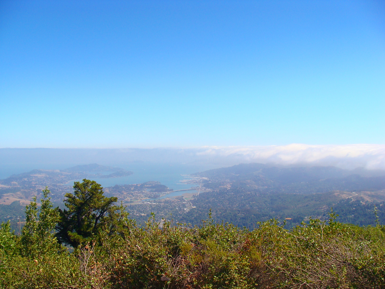 San Francisco Bay Area from Mt. Tamalpais