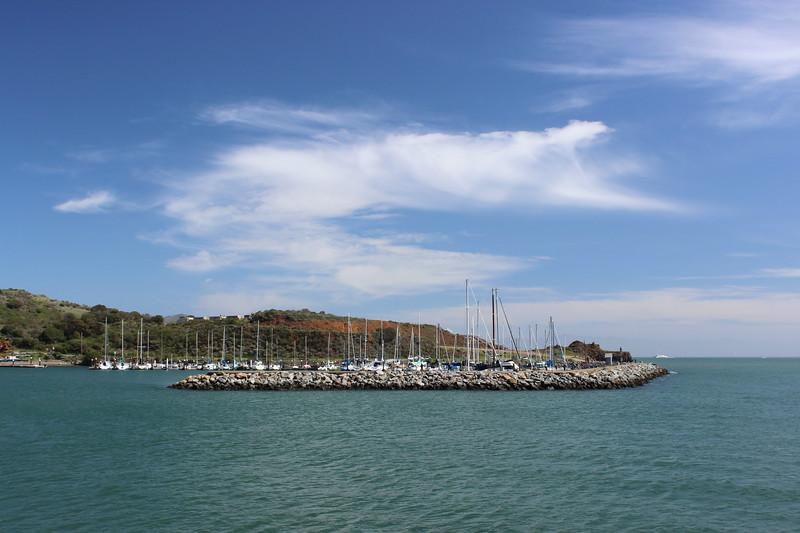 Breakwater at the Harbor