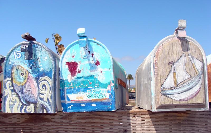 Napa St. Galilee Harbor Mailboxes 2