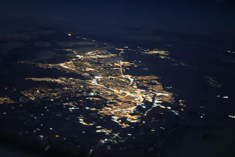 Southern California City at Night