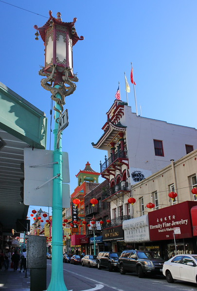 Streetlight in Chinatown