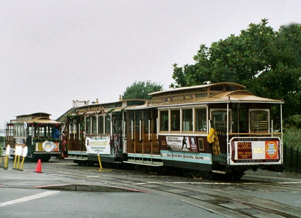 Cable Car Turnaround at Hyde