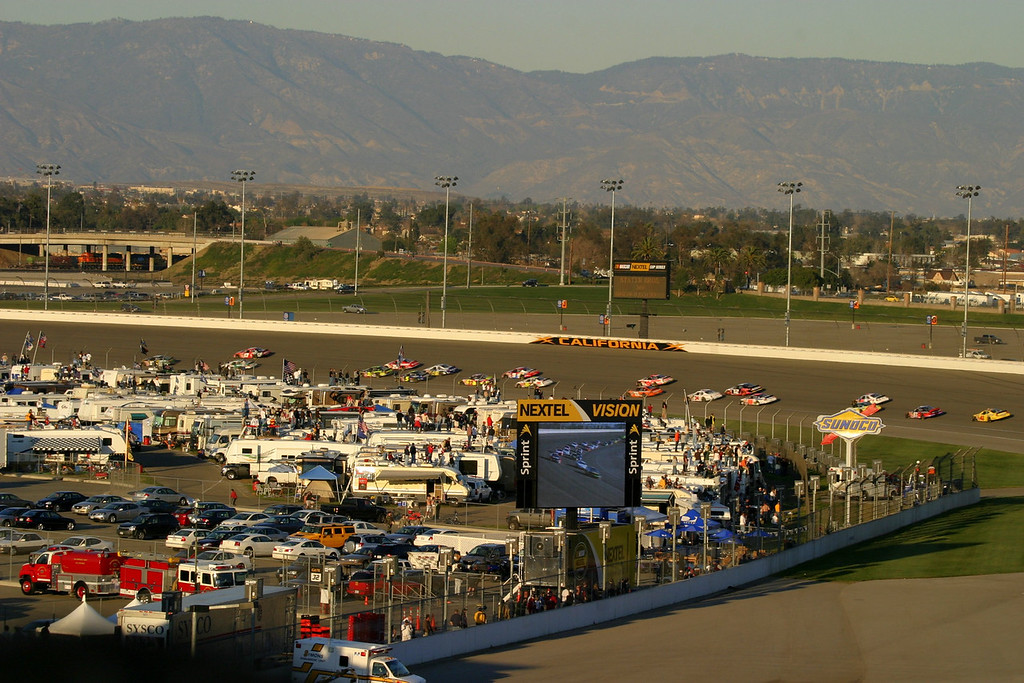 2007 California Speedway NASCAR weekend