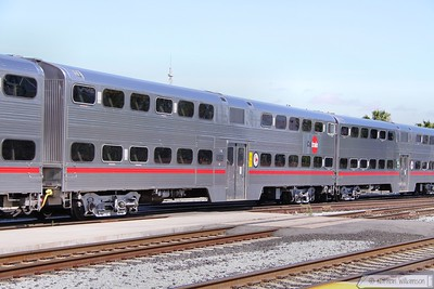 Caltrain Cab Car 4009 in San Jose  07/06/10