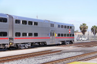 Caltrain Cab Car 4024 in San Jose  07/06/10