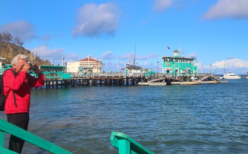 Catalina Island: Avalon Harbor, View on Pier