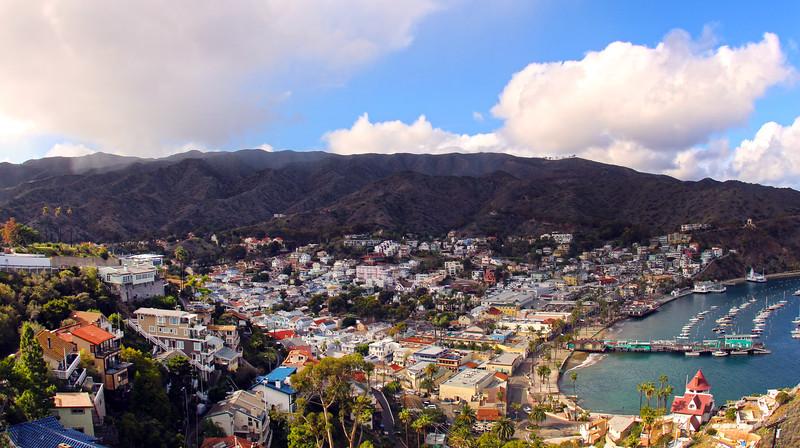 Catalina Island: View on Avalon and Harbor