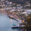 Catalina Island:  Avalon Harbor at Dusk
