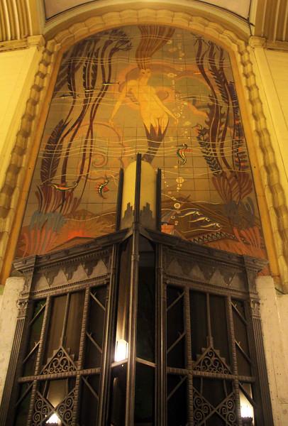 Catalina Island:  Casino Art-Deco Mural