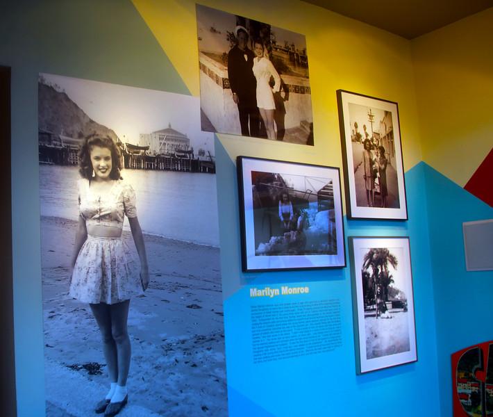Catalina Island: Catalina Island Museum, Marilyn Monroe Exhibit