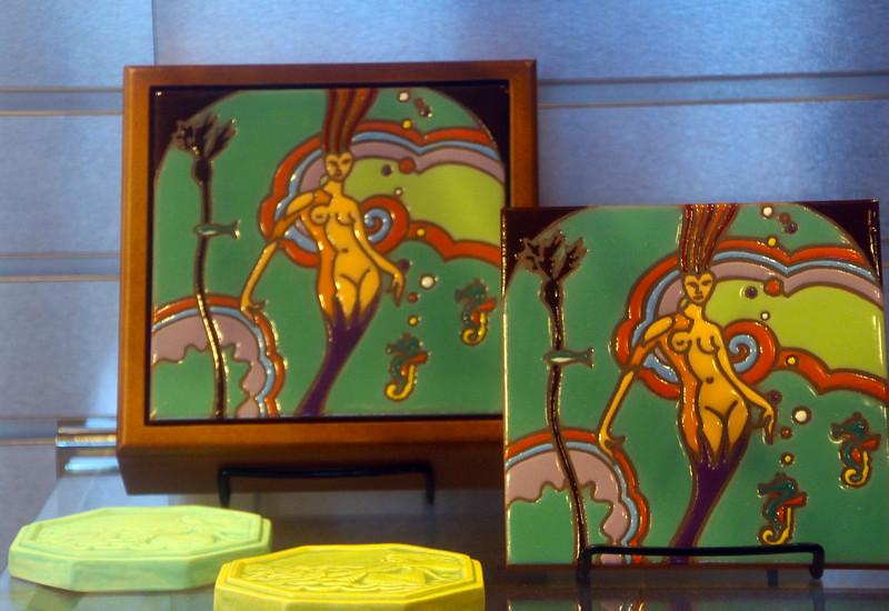 Catalina Island: Catalina Island Museum Gift Shop,  Art Deco Tiles