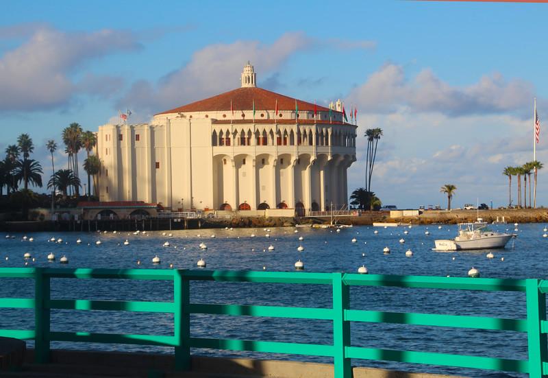 Catalina Island:  Casino at Dusk