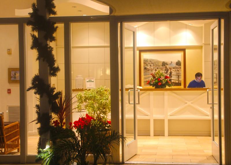 Catalina Island:  Pavilion Hotel Lobby
