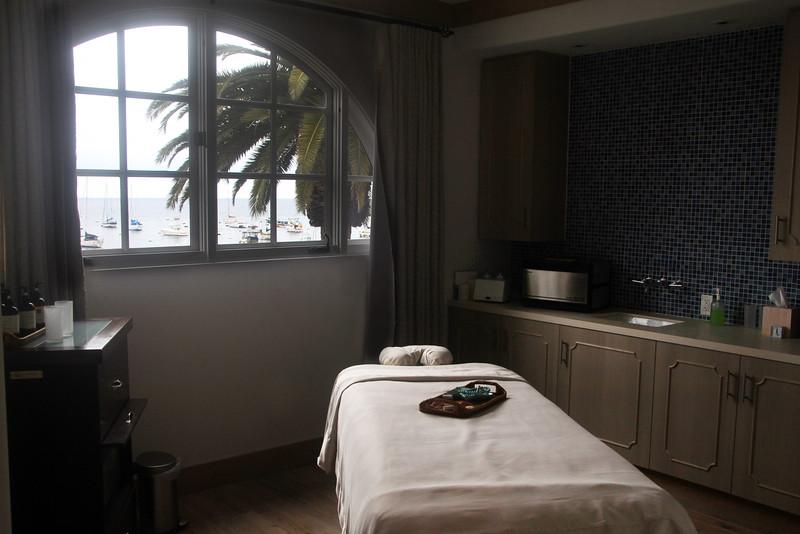 Catalina Island:  Island Spa Catalina, Treatment Room
