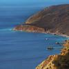 Catalina Island: Golden Cliffs Near Little Harbor