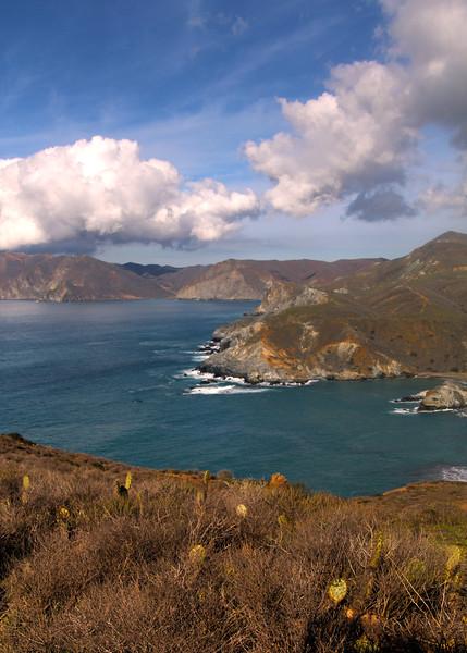 Catalina Island: Landscape Surrounding Little Harbor