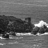 Catalina Island: Crashing Waves Near Cottonwood Beach