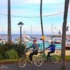 Catalina Island: Bicycling Through Downtown Avalon