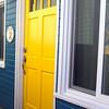 Catalina Island:  Yellow Door on Cottage