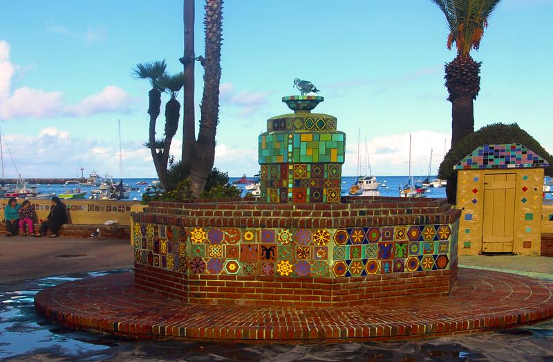 Catalina Island:  Catalina Tile Fountain
