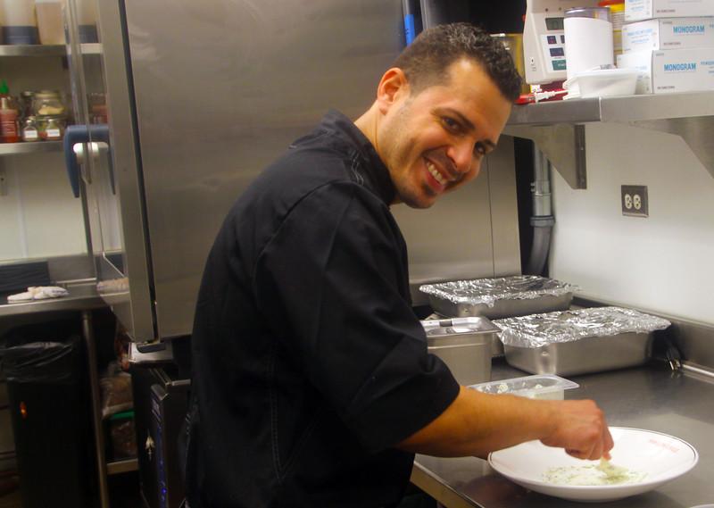 Catalina Island: Avalon Grill, Master Chef Edwin Robles