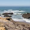 Rocks in the Pacific Ocean
