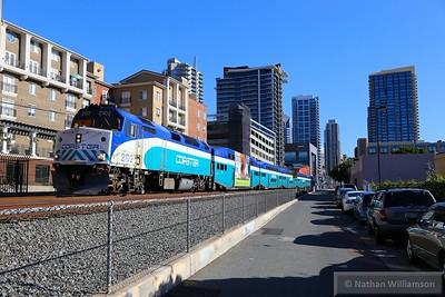 SDNX2102 departs San Diego