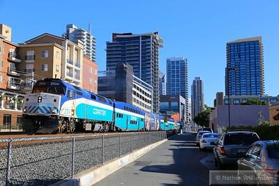 SDNX2104 departs San Diego