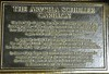 The Arvella Schuller Carillon plaque
