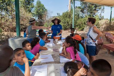 "Elementary school students participate in the DEEP program within a San Diego ""Diamond Neighborhood""."