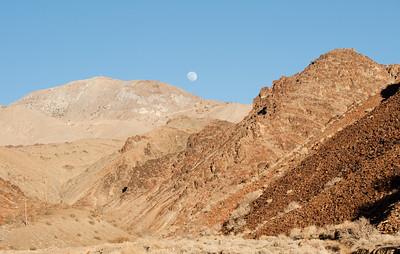 On the road to Cerro Gordo