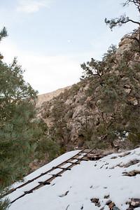 Trail canyon, Morning glory mine