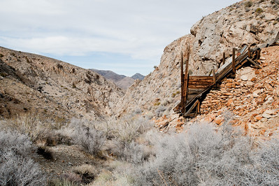 Trail canyon, Old dependable antimony mine