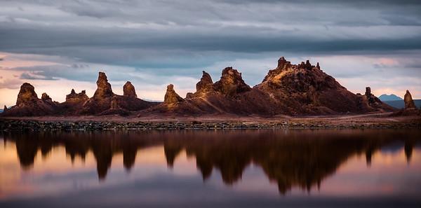 Trona Pinnacle Reflection