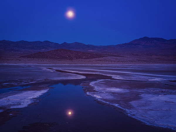 Moonlit Salt Creek