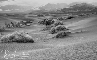 Mesquite Flat sand dunes  Death Valley, California