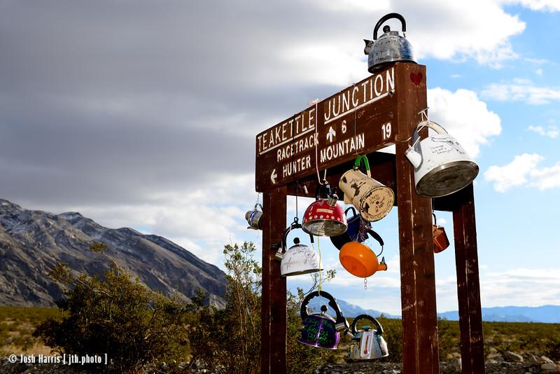 Teakettle Junction, Death Valley, November 2015.