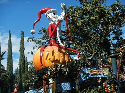 Disneyland - Jack Skeleton Haunted House