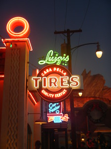 California Adventure - Cars Land