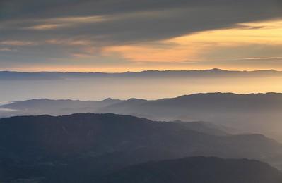 Nordhoff Peak view