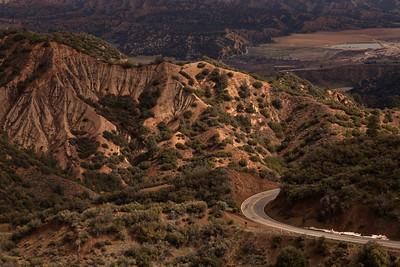 Maricopa Highway (Hwy 33) scenery