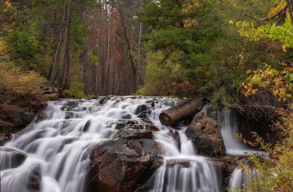 Lee Vining Creek Falls